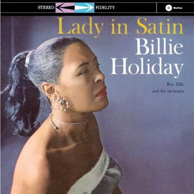 Billie Holiday LADY IN SATIN Vinyl Record - 180 Gram Pressing, Remastered