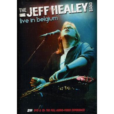 Jeff Healey LIVE IN BELGIUM DVD