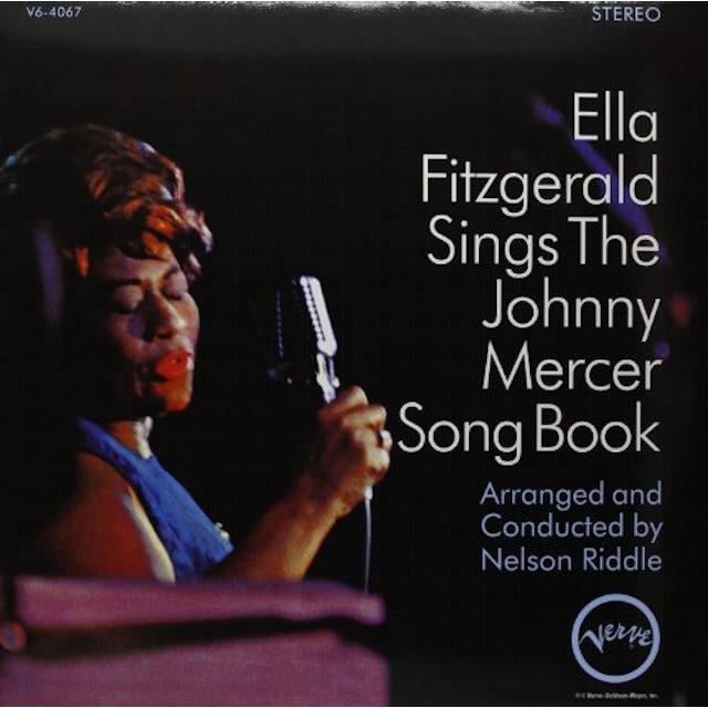 Ella Fitzgerald SINGS THE JOHNNY MERCER SONG BOOK Vinyl Record - 180 Gram Pressing