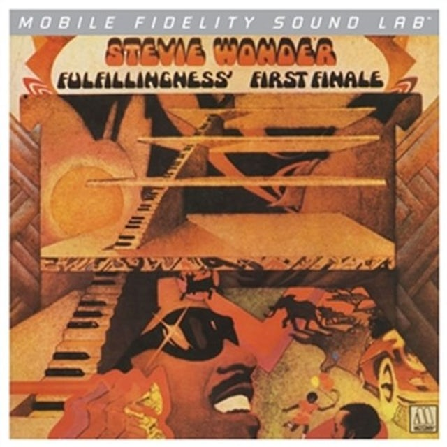 Stevie Wonder FULFILLINGNESS FIRST FINALE Vinyl Record