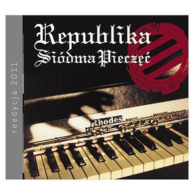 Republika SIODMA PIECZEC CD
