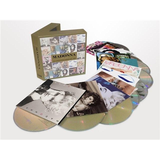 Madonna COMPLETE STUDIO ALBUMS 1983 - 2008 CD