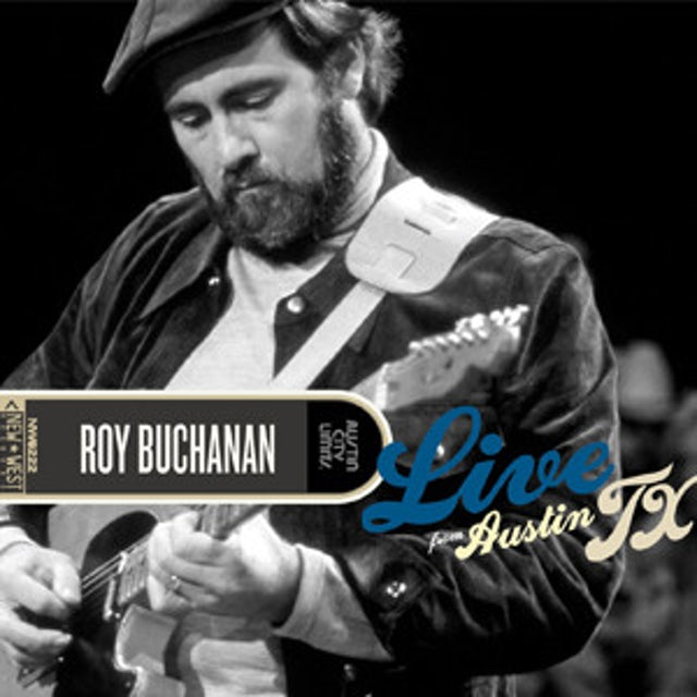 Roy Buchanan LIVE FROM AUSTIN TX Vinyl Record