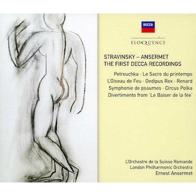 Ernest Ansermet STRAVINSKY - ANSERMET: FIRST DECCA RECORDINGS CD