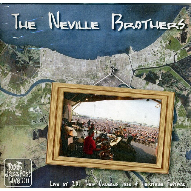 Neville Brothers LIVE AT JAZZ FEST 2011 CD