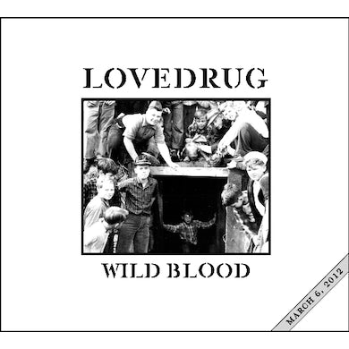 Lovedrug WILD BLOOD CD