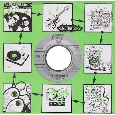 Penetrators TEENAGE LIFESTYLE Vinyl Record