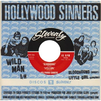 Hollywood Sinners WILD MAN Vinyl Record