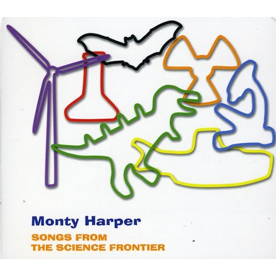 Monty Harper SONGS FROM THE SCIENCE FRONTIER CD