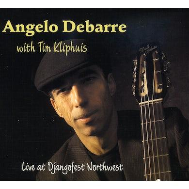 Angelo Debarre LIVE AT DJANGOFEST NORTHWEST CD