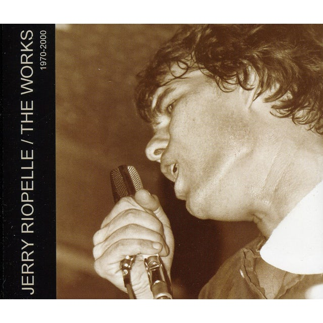 Jerry Riopelle WORKS / 1970-2000 CD