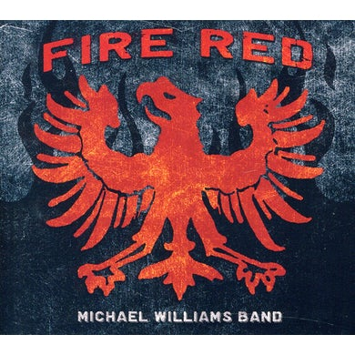 Michael Williams FIRE RED CD
