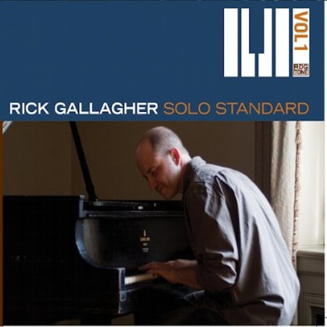 Rick Gallagher SOLO STANDARD, VOL. 1 CD