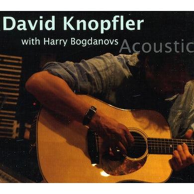 David Knopfler ACOUSTIC (FEAT. HARRY BOGDANOVS) CD