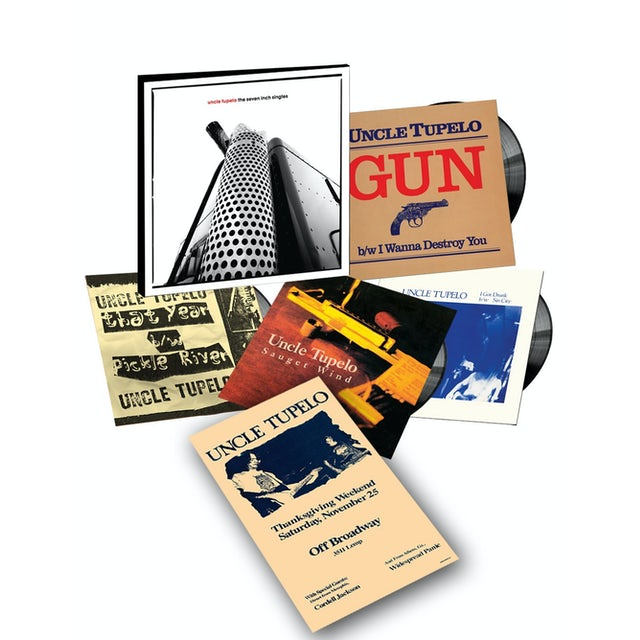 Uncle Tupelo SEVEN INCH SINGLES Vinyl Record