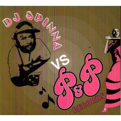 Dj Spinna VS P & P RECORDS CD