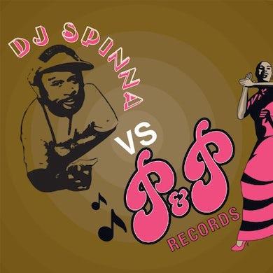 Dj Spinna VS P & P RECORDS Vinyl Record