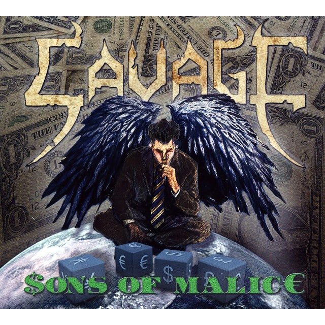 Savage SONS OF MALICE CD
