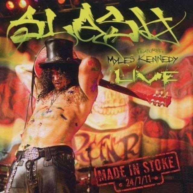 Slash MADE IN STOKE Vinyl Record