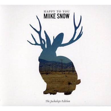 Miike Snow HAPPY TO YOU CD