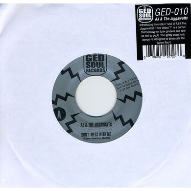 Aj & Jiggawatts DON'T MESS WITH ME / PIMP DECISIONS Vinyl Record