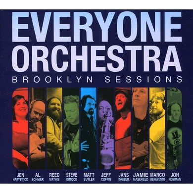 Everyone Orchestra BROOKLYN SESSIONS CD