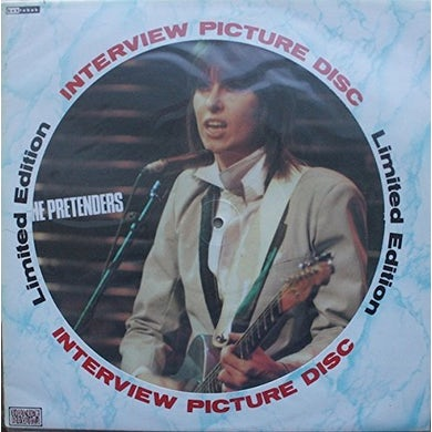 The Pretenders INTERVIEW PICTURE DISC Vinyl Record