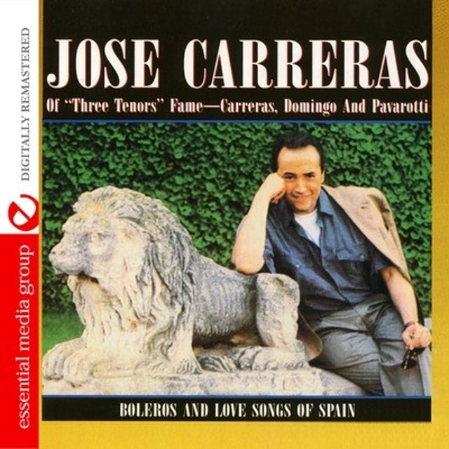 Jose Carreras BOLEROS AND LOVE SONGS OF SPAIN CD