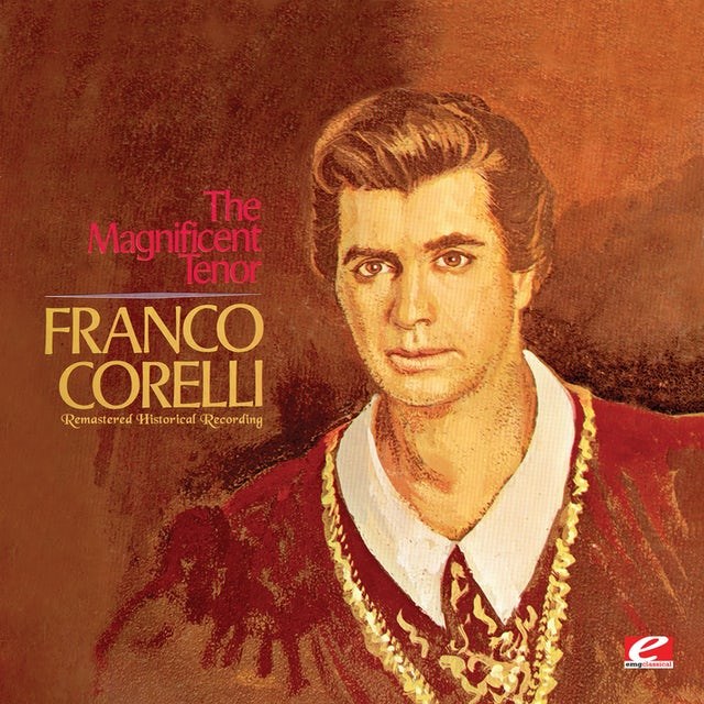 Franco Corelli MAGNIFICENT TENOR CD