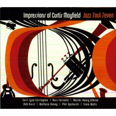 Jazz Soul Seven IMPRESSIONS OF CURTIS MAYFIELD CD