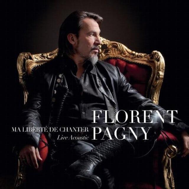 Florent Pagny MA LIBERTE DE CHANTER LIVE ACOUSTIQUE CD