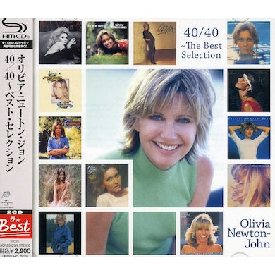 Olivia Newton John 40/40 THE BEST SELECTION CD