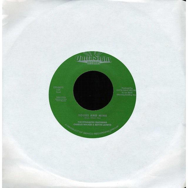 Charles Walker & Bettye Lavette YOURS & MINE / SERENDIPITY Vinyl Record