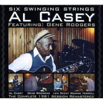 Al Casey SIX SWINGING STRINGS CD