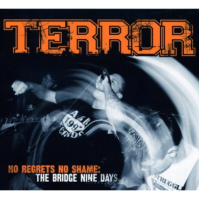 Terror NO REGRETS NO SHAME CD