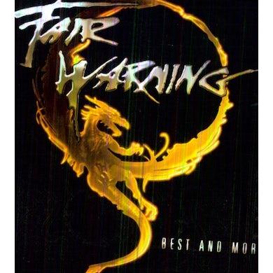 Fair Warning BEST & MORE CD