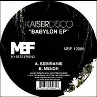 Kaiserdisco BABYLON Vinyl Record
