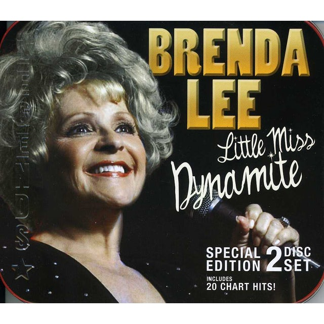 Brenda Lee LITTLE MISS DYNAMITE CD