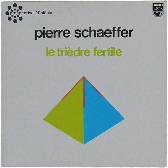 Pierre Schaeffer TRIEDRE FERTILE Vinyl Record