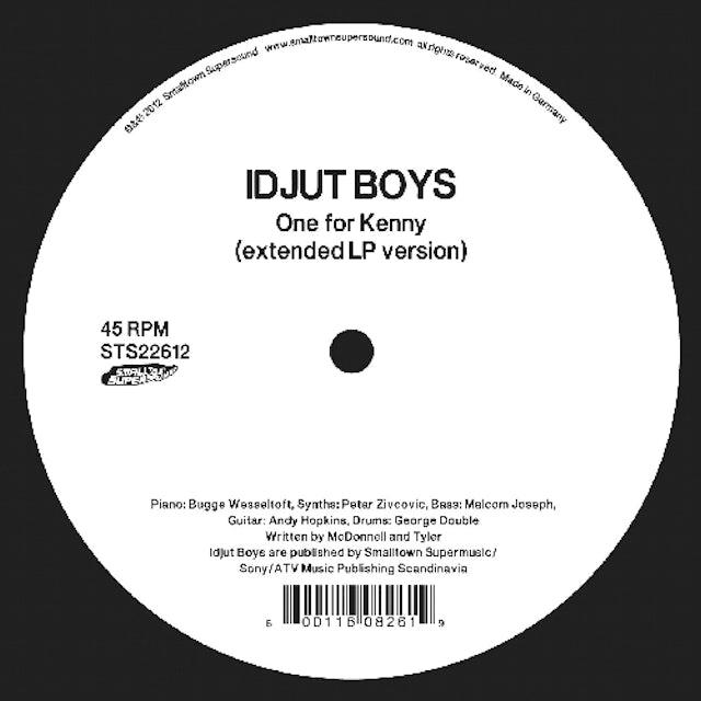 Idjut Boys ONE FOR KENNY Vinyl Record