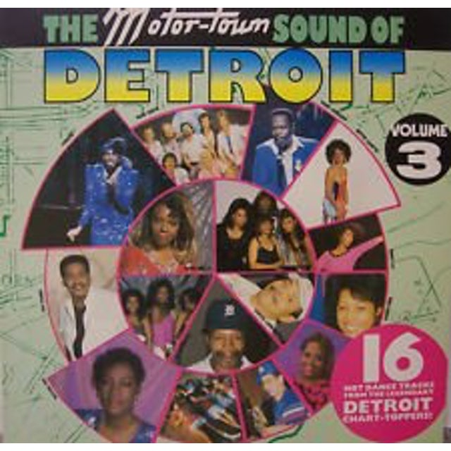 Motortown Sound Of Detroit 3 MOTOWN ARTISTS-80'S RECORDINGS Vinyl Record