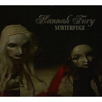 Hannah Fury SUBTERFUGE CD