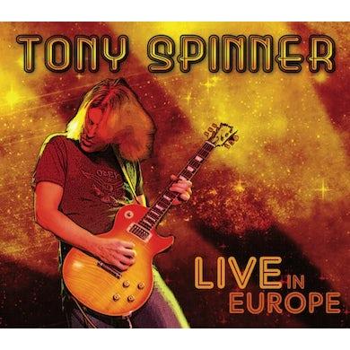 Tony Spinner LIVE IN EUROPE CD