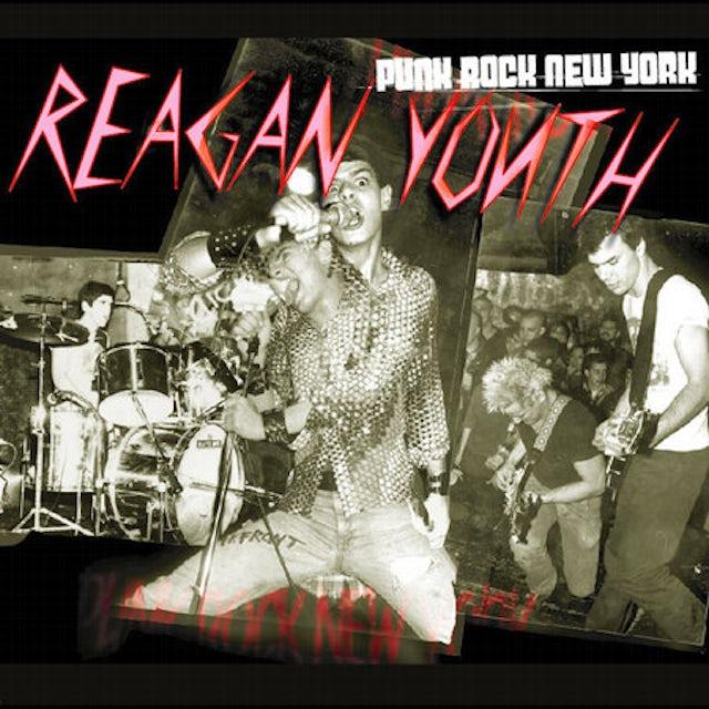 Reagan Youth PUNK ROCK NEW YORK CD