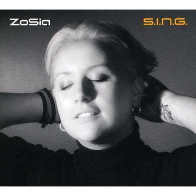 Zosia S.I.N.G. CD