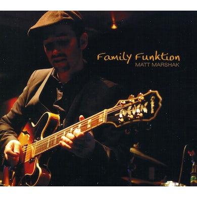 Matt Marshak FAMILY FUNKTION CD