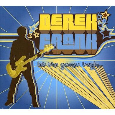Derek Frank LET THE GAMES BEGIN CD