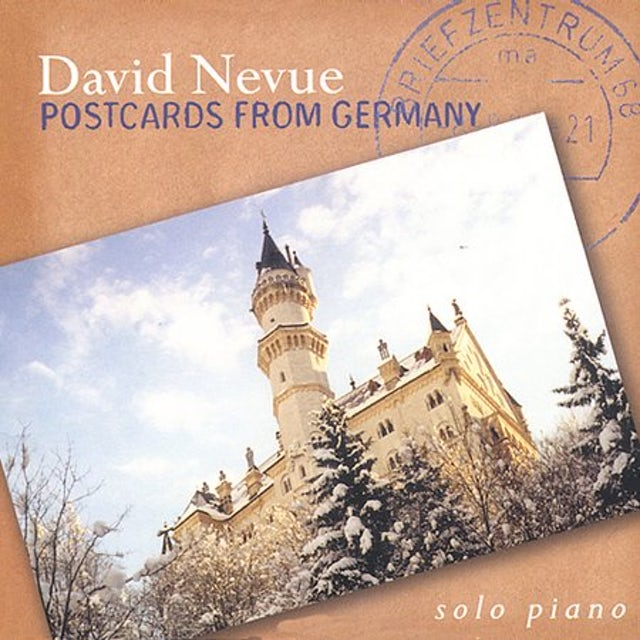 David Nevue POSTCARDS FROM GERMANY CD