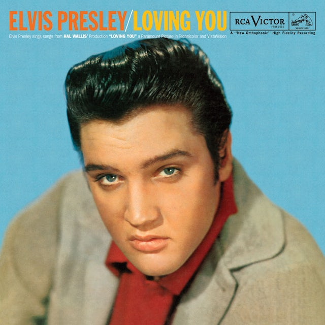 Elvis Presley LOVING YOU Vinyl Record