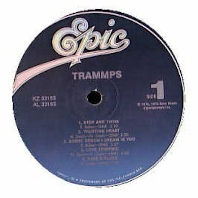 Trammps WHERE DO WE GO FROM HERE Vinyl Record